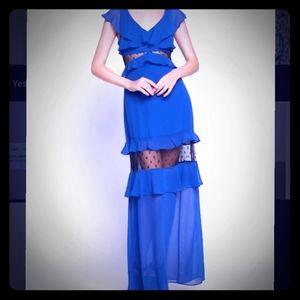BCBGeneration flowy ruffle dress